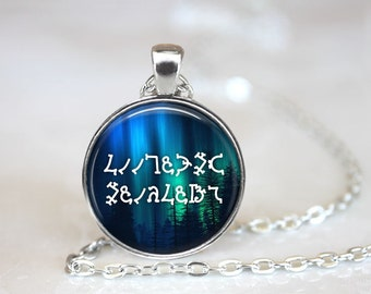 Your Name or Phrase in Enochian, Supernatural, Custom Personalized Jewelry