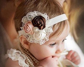 Lace Baby Headbands