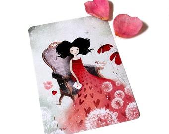 La Lettre - Postcard