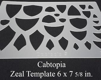 Cabochon template | Etsy