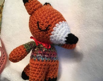 Crochet Little modest fox