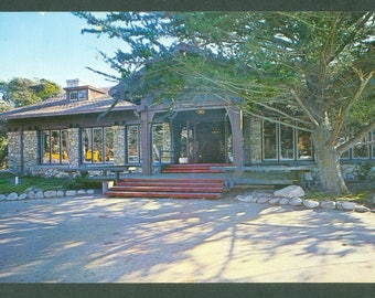 Pacific Grove California Crocker Dining Hall Asilomar Conference Grounds Photo Postcard (12537)