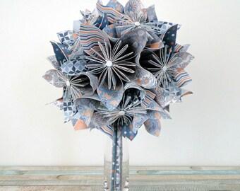 Origami bouquet Kusudamaflowers
