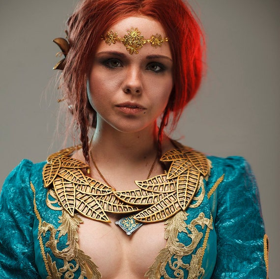 Alternative Witcher Hunt Ballgown Custom Handmade Dress Green Merigold Made Wedding Corset 3 Wild Cosplay Corsetry Fantasy Triss wrpqxzXpnE