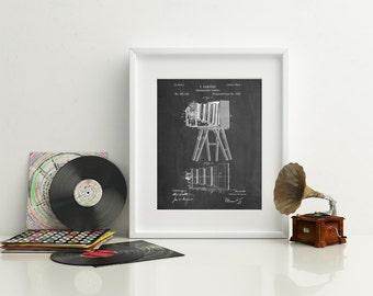 Photographic Camera 1885 Patent Poster, Antique Camera, Photographer Gift, Photography Wall Art, Camera Poster, PP0033