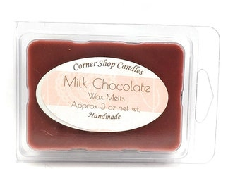Chocolate Wax Melts. Scented Wax Melts. 6 Cube Pack. Milk Chocolate Scented. Wickless Candle Wax
