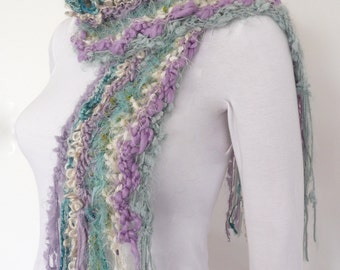 Hand Knitted Half Price  Scarf Winter knit scarf HALF PRICE