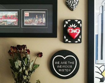 THE CRAFT We are the Weirdos, Mister Candy Love Heart Wall Hanging Halloween Witch.