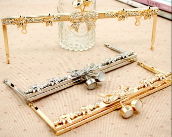 purse frame ,purse clasp clutch frame, metal purse frame purse making supplies wholesale