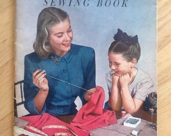 Vintage 1949 Simplicity Sewing Book