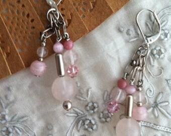 OOAK In the Pink Earrings