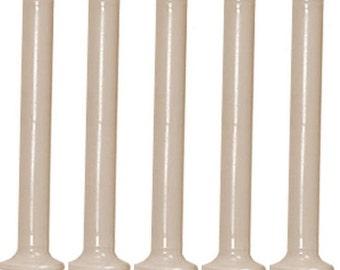 """10 New 4"""" Plastic Bobbins for Boat Shuttle - Weaving Loom - Bobines de plastique 4"""" pour navettes à fils - Métier à tisser"""
