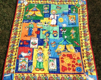 Circus Baby Quilt