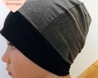 Middle-season Hat gray