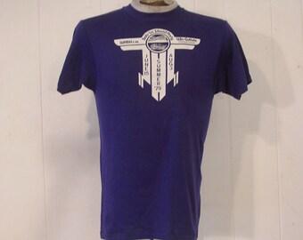 T-shirt vintage, 1970s t-shirt, Olympics t-shirt, Bob-lo island, medium