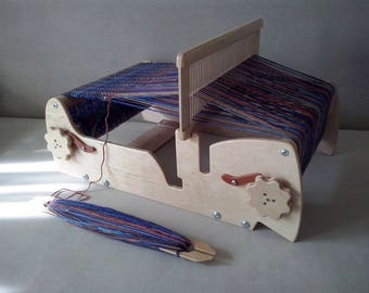 "12"" Weaving Loom + 2reed + 3Shuttles, Weaving loom, Table loom, Cricket Loom, Rigid Heddle Loom, Weaving, Sampleit Loom"