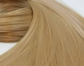 Buffy Sandy Blonde Nylon Doll Hair Hank for Rerooting for Barbie® Monster High® Ever After High® My Little Pony Fashion Royalty Disney