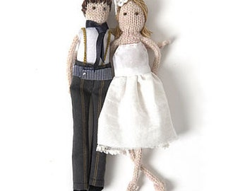 Novio y novia personalizada