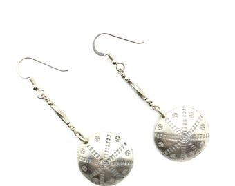 Sterling Earrings, Casual Earrings,Earrings for Work, Date Night Jewelry, Dangle Earrings,Silver Earrings, Gift for Her,Sterling Silver