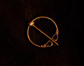 Saxon Pennannular Brooch with enamel - R-16