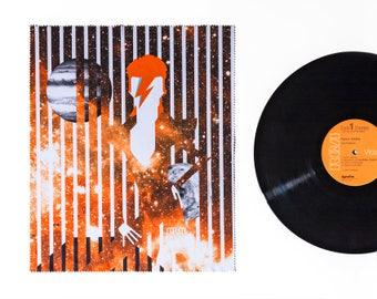 David Bowie Tribute - Microfibre Lens Cloths - BIG 30x36 cm - Music Legends Tribute