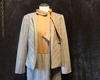 Vintahe 1960s Henry Lee Dress and Blazer