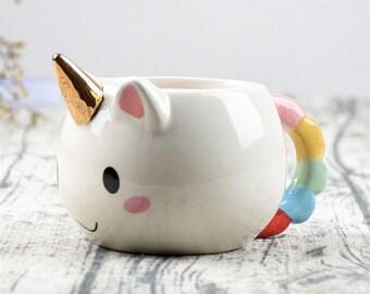 Kawaii Magical Unicorn Mug for Coffee and Milk