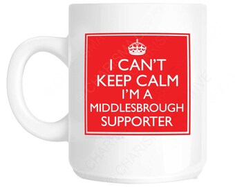 Middlesbrough Supporter Novelty Fun Mug CH347