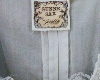 Vintage Gunne Sax by Jessica San Francisco Dress / Jessica McClintock / Wedding Dress/  White Maxi / Summer Fashion/ Country Chic / Women's