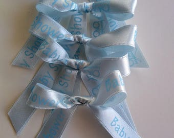 Baby Shower Pre-tied Bows         10 pcs.