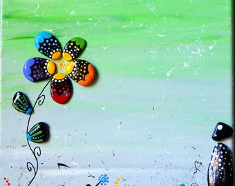 In the garden garden decorative painting