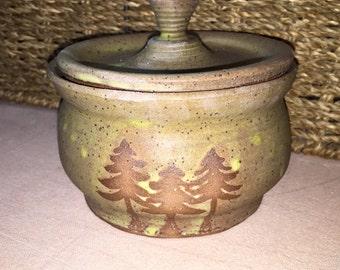 Stoneware container