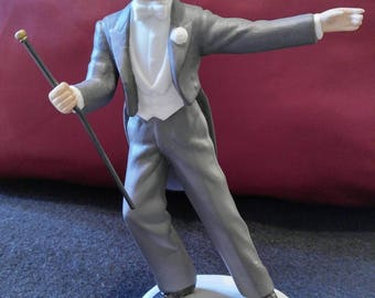 Avon Images of Hollywood Fred Astaire Broadway Figurine