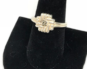 Vintage Sterling Silver 925 Size 9 Ring