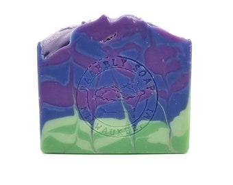 Lilac Cold Process Soap