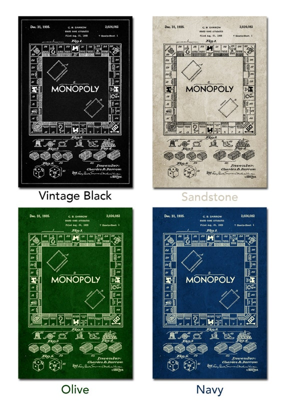Monopoly patent poster board game art monopoly blueprint monopoly patent poster board game art monopoly blueprint board games pp0131 z1016 malvernweather Image collections