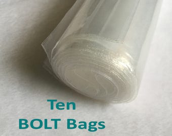 Clear Plastic BOLT Bags for Organizing Your Bolts of Fabric Sewing & Quilting Most Useful Tools