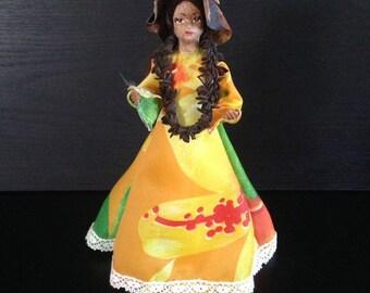 Vintage Makaleka Hawaiian Doll, Aloha Hawaii