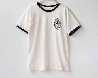 Heart Shirt TShirt T-Shirt T Shirt Tee