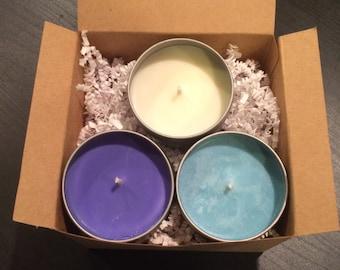 4 oz. Soy Candle Gift Set