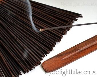 Frankincense and myrrh Incense sticks 20 pack Hand dipped, Air dried