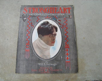 1906 sheet music (  strongheart  )