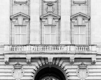 Buckingham Palace Photography, Buckingham Palace Wall Art, Picture Of London Landmarks, Buckingham Palace Photo Print