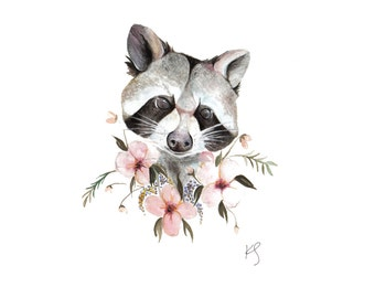 Racoon Etsy