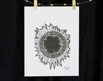 Crystal Eclipse Original Print