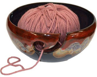 Dreamsicle Yarn Bowl
