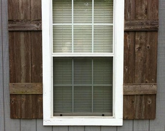 Window with shutters | Etsy