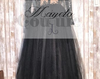 READY TO SHIP Lace and tulle prom / homecoming dress