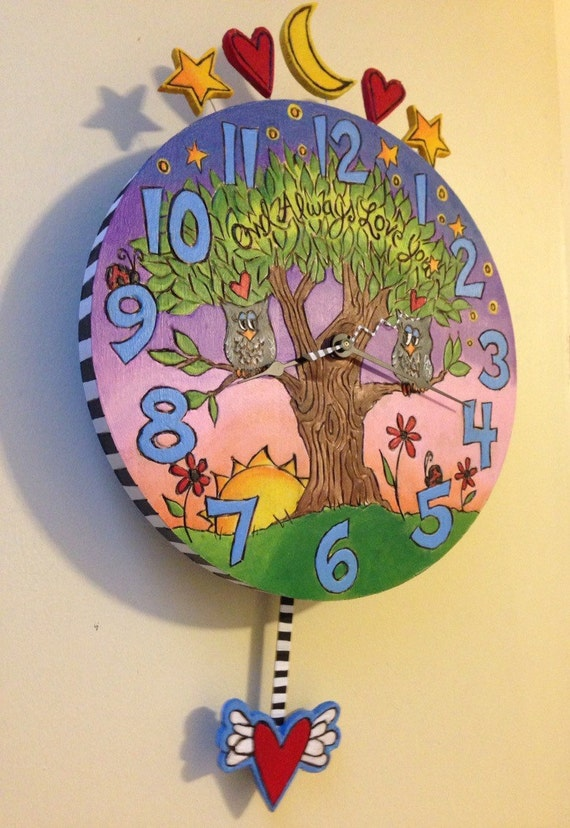 MADE TO ORDER Custom Pendulum Clock