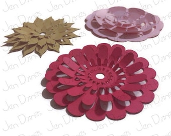Collection of Flower 3D Pop SVG cutting file ~instant download~